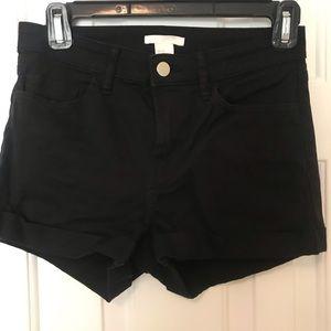 H&M Size 4 Stretch Shorts